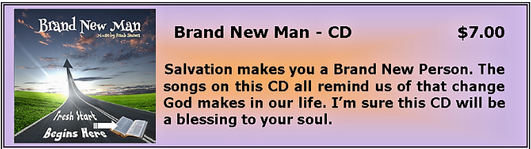 Brand New Man CD